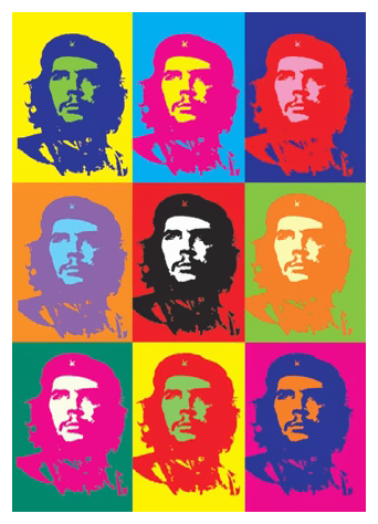 Andy Warhol Che Guevara (1962)