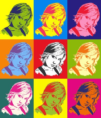 Tutoriel Pop Art Résultat