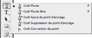 Outils Plume
